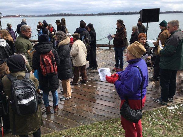 Starting at Lake Ontario